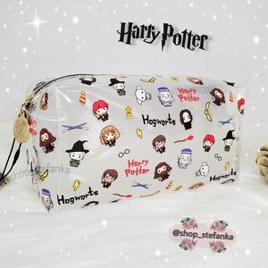🎁 Harry Potter Characters Cosmetic Pouch Bag 💫